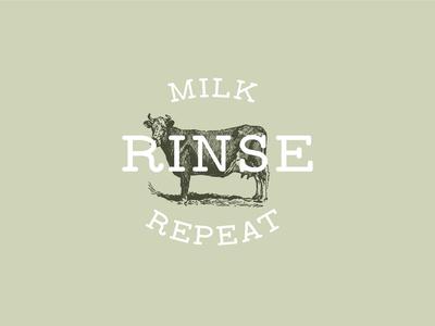 Milk, Rinse, Repeat Concept