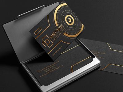 Photographer Business Card Design By Company Folders Inc Dribbble