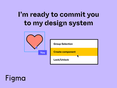 A little late ❤️ community remix pun valentines figma design