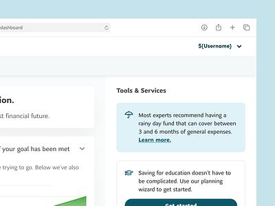 Tools & Services design system figma design app web ux ui