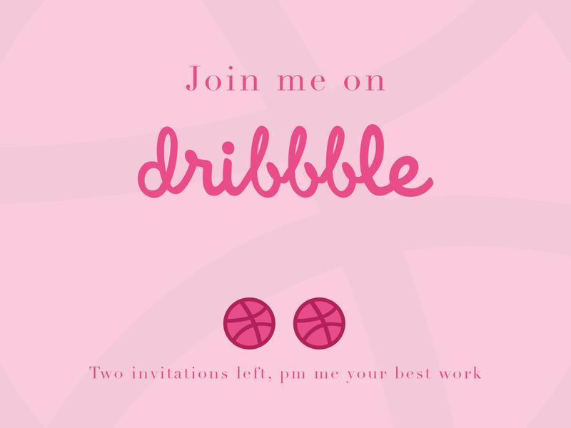 Need an invitation? nosebleed tickets invite dribbble
