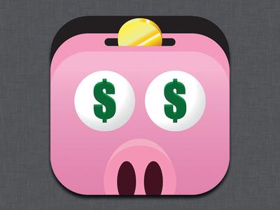 Ad Piggy iOS Icon
