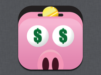 Ad Piggy iOS Icon