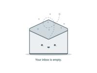 Empty state - Inbox empty
