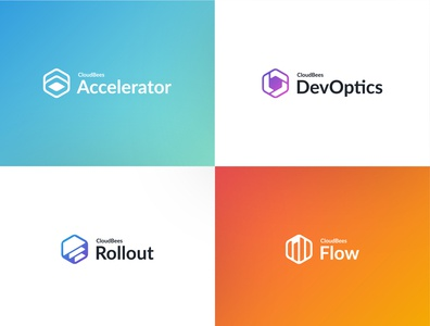 CloudBees Product Icons - Re-skinned product icon logo icon design