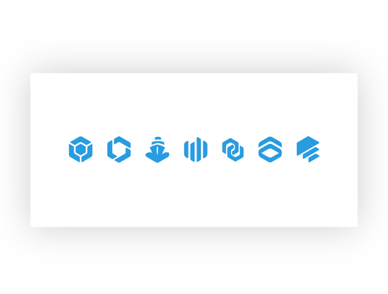 CloudBees Product Icons logo branding design icon product icon