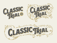 Classic Trial Lettering