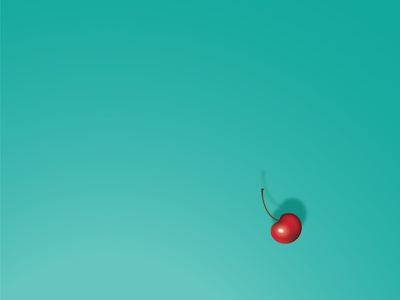 Garnish mesh tool realistic illustrator design fruit