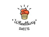 Wheelbury Sweets Cafe and Bakery Logo Design