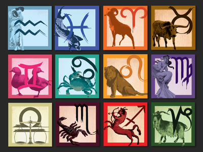 The 12 Signs of the Zodiac - Astrology