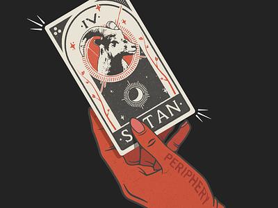 Hail Stan Tarot tarot card vector typogaphy texture design illustration