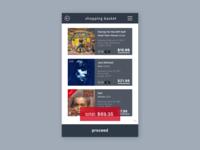 Shopping Basket (Daily UI 58)