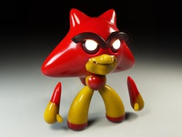 4k Character render test for new 3D toy