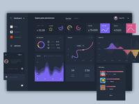 Dashboard Home UI