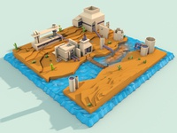 "3d factory ""low poly"" style"