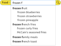 Search Bar With Autocomplete