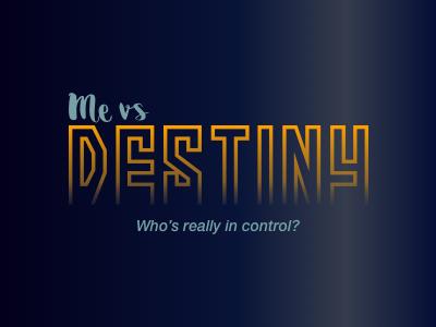 Me vs Destiny Logo destiny logo