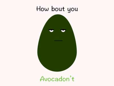 Sassy Avocado t-shirt design tshirt design avocado