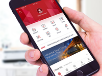 Concept design of Bank of China app