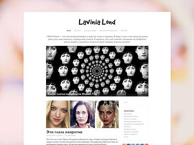 Blog blog blog design blogging website ui lifestyle personal