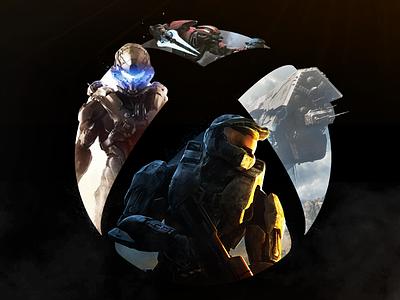 Xbox Nexus: Halo art key nexus xbox chief master halo