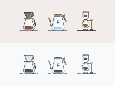Coffee Culture Icons  - 2 of 3 web design webdesign mobile ui trend 2020 minimal icon designer icons design iconset icons icon design iconography icon set icon coffee logo coffee bean coffeeshop coffee shop coffee cup coffee