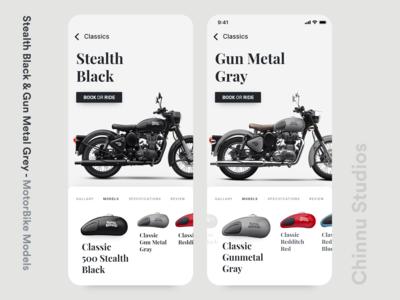 Motor bike Model UI