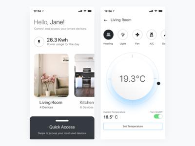 Smart Home - UI Rebound Challenge