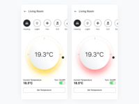 Smart Homes  Thermostat Color Explorations