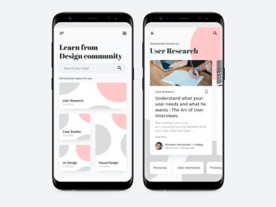 Design Community Learning
