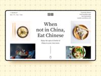 Chinese restaurants - Website
