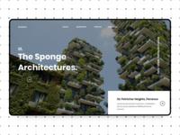 Sponge Architecture - Portfolio Website