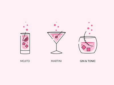Chill Drink Icons drink menu drinking mojito martini iconset icon drink