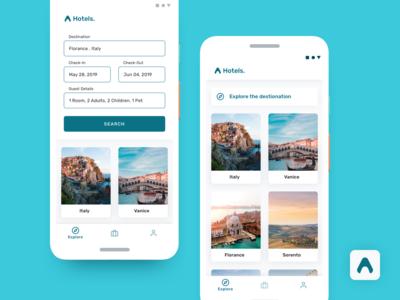 Alpha Hotels - Hotel Reservation App