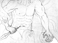 human life drawing practice #7