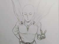One Punch Man doodle