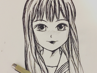 Anime doodle #1