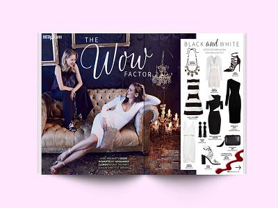 NW Magazine lettering branding typeface graphic design print australia celebrity fashion nw magazine