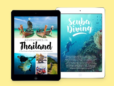 Ebook AIY designer branding marketing graphics website apple pdf ebook ipad thailand asia travel