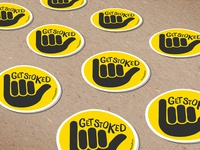 Get Stoked Stickers