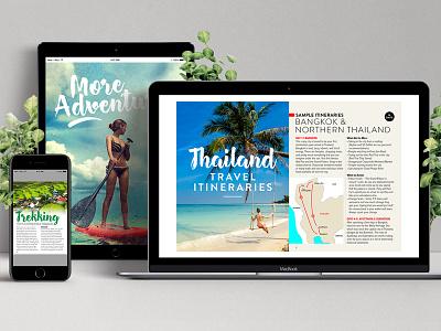 Ebook Offers travel asia thailand ipad ebook pdf apple website graphics marketing branding designer