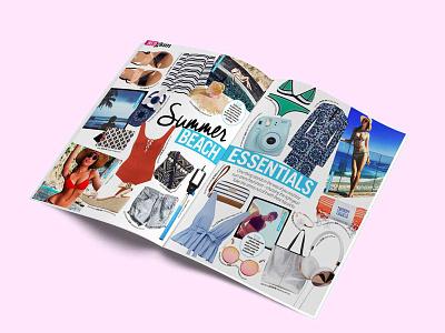 NW Magazine fashion spread typeface print nw magazine lettering graphic desig fashion celebrity branding australia