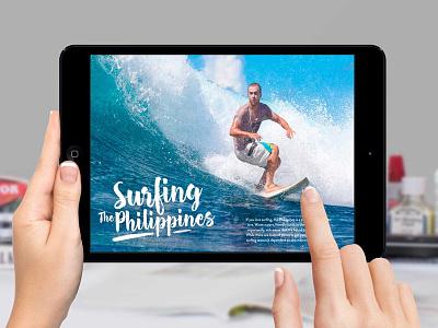 AIY Travel E-Book website travel philippines pdf marketing ipad graphics ebook designer branding asia apple