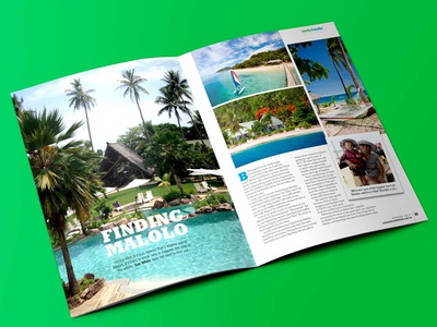 Out & About With Kids Fiji feature holiday kids travel print marketing magazine feature branding fiji