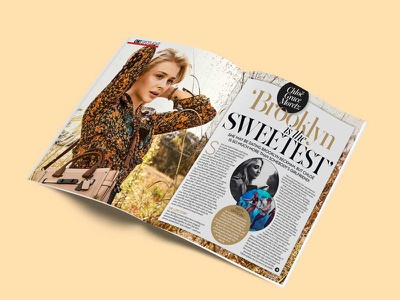 Ok! Magazine celebrity feature typography marketing magazine lettering graphic design fashion design celebrity branding art