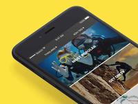 Get Stoked app opening screen