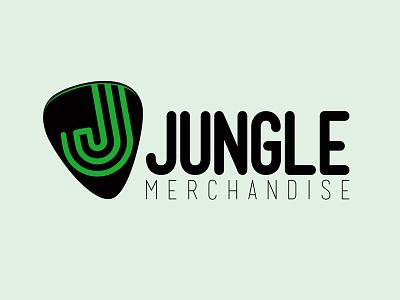 Jungle Merchandise logo illustrator merchandise music logo website identity design graphic branding
