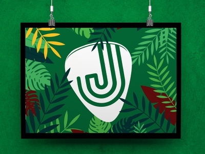 Jungle Merchandise promo poster blog branding graphic logo design marketing photoshop typeface website