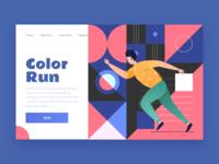 Run Your Color Palette
