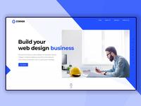 Corner Business landing page